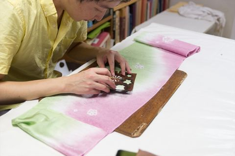 京都ものづくり・伝統産業の職人に会いに 第7回 辻が花染め工房 絵絞庵 福村健さん