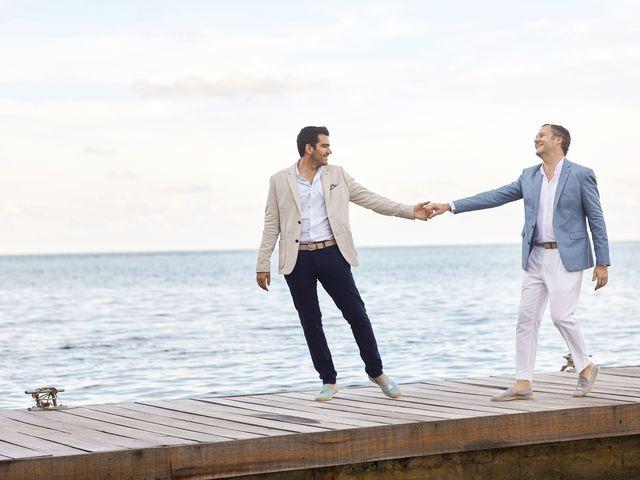 Matthew Robbins And Luis Otoya S Intimate Island Wedding
