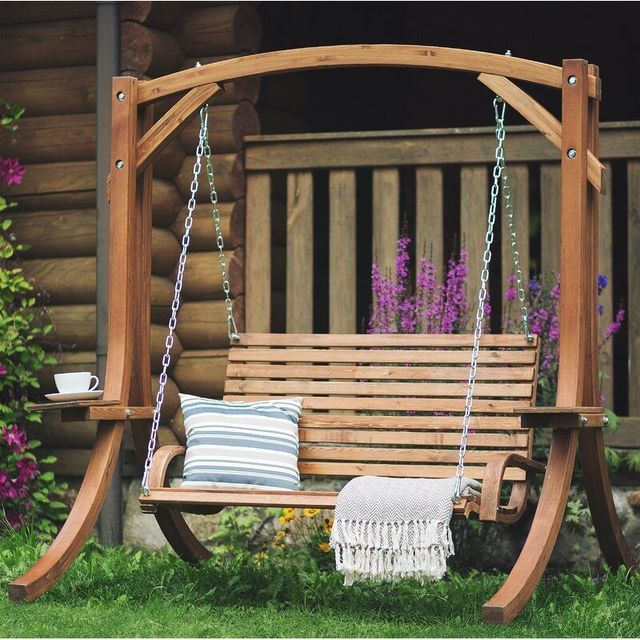 Best Garden Swing Chairs For Summer 2021, Outdoor Swing Seat With Stand