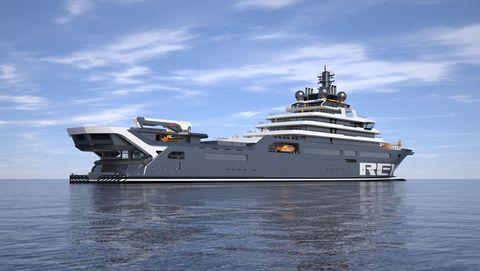 Vehicle, Boat, Ship, Watercraft, Naval ship, Yacht, Naval architecture, Navy, Water transportation, Luxury yacht,