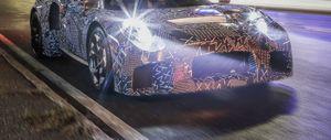 Maserati mid-engined sports car