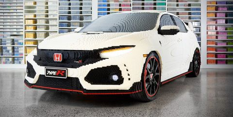 Lego Honda Civic Type R Is Prettier Than Real One