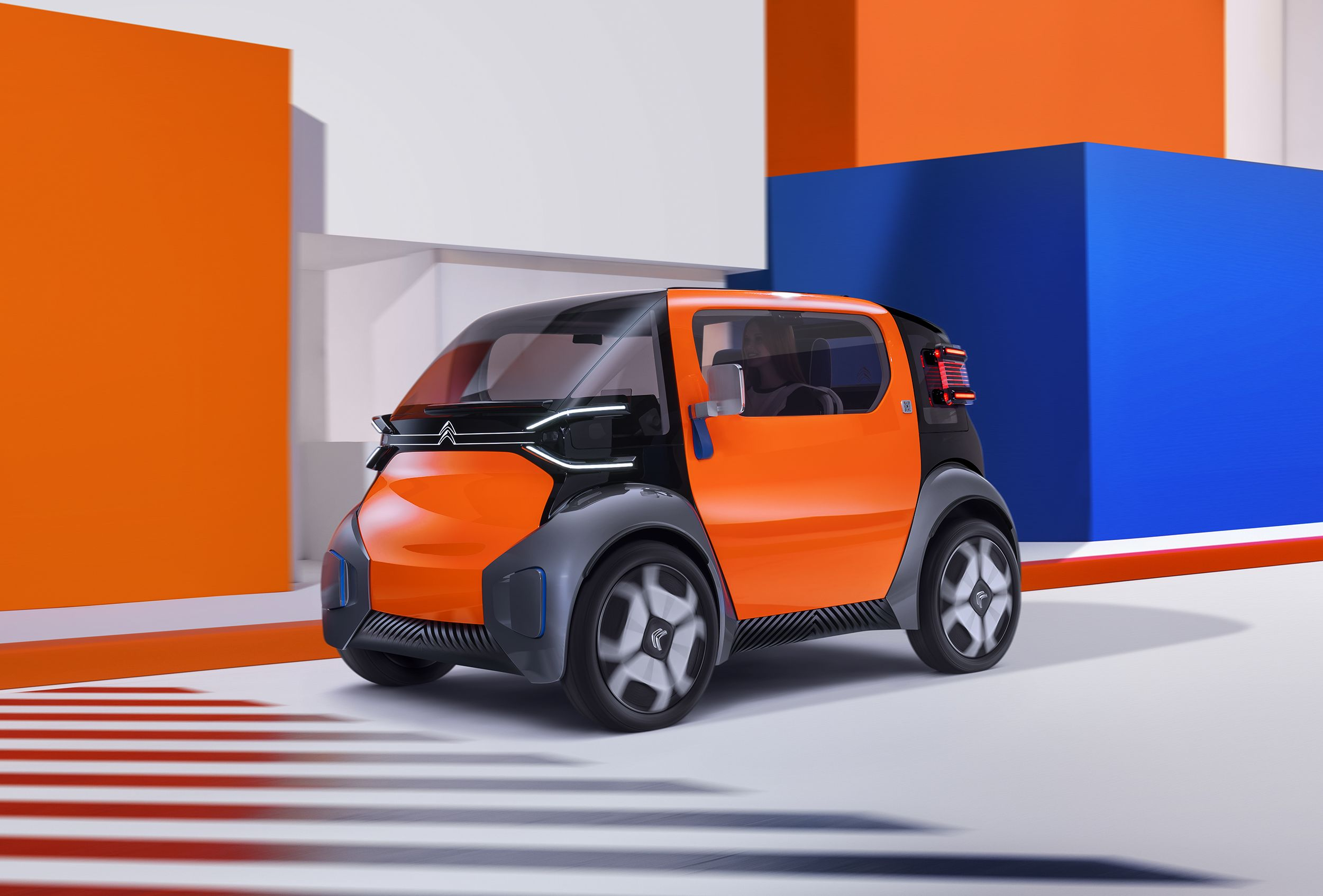 The Citroën Ami One Concept Is a Tiny City Car That Doesn't Require a License