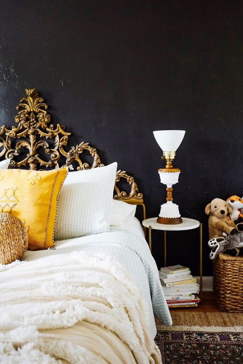 . 10 Stylish Black Bedroom Ideas   How to Decorate a Black Bedroom