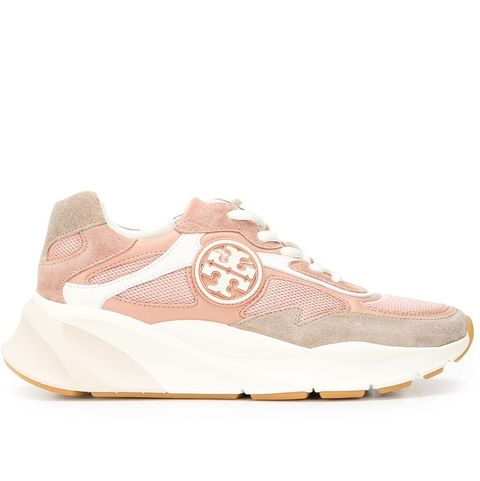 tory burch 粉色球鞋