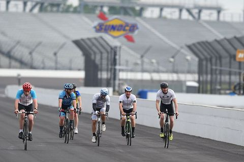 Indianapolis Motor Speedway bike rides