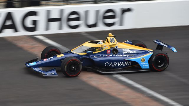 indy 500 test jimmie johnson