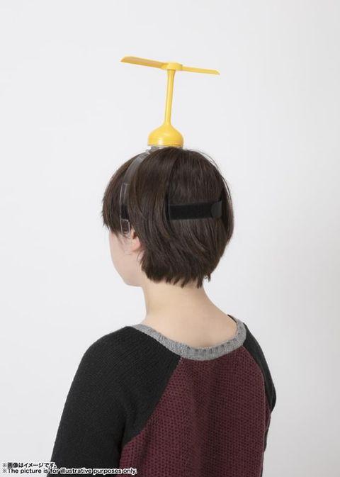 哆啦a夢迷必收!日本發明超鬧 11 竹蜻蜓,真的可以轉動起飛!