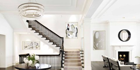 Interior design, Room, Property, Building, Ceiling, Floor, Furniture, Dining room, House, Lobby,