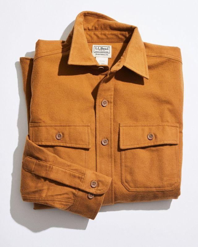 llbeanのシャミークロスシャツ
