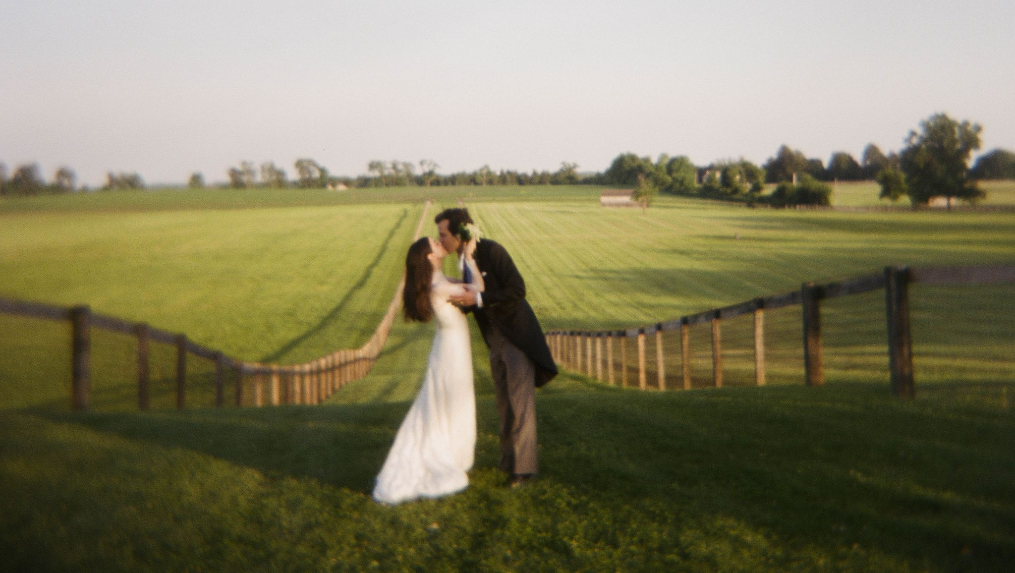 Katie Ermilio & Tylee Abbott's Wedding Turned Pennsylvania into the English Countryside—on a Horse Farm