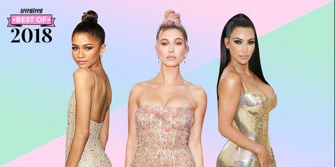 celebrity naked dresses 2018