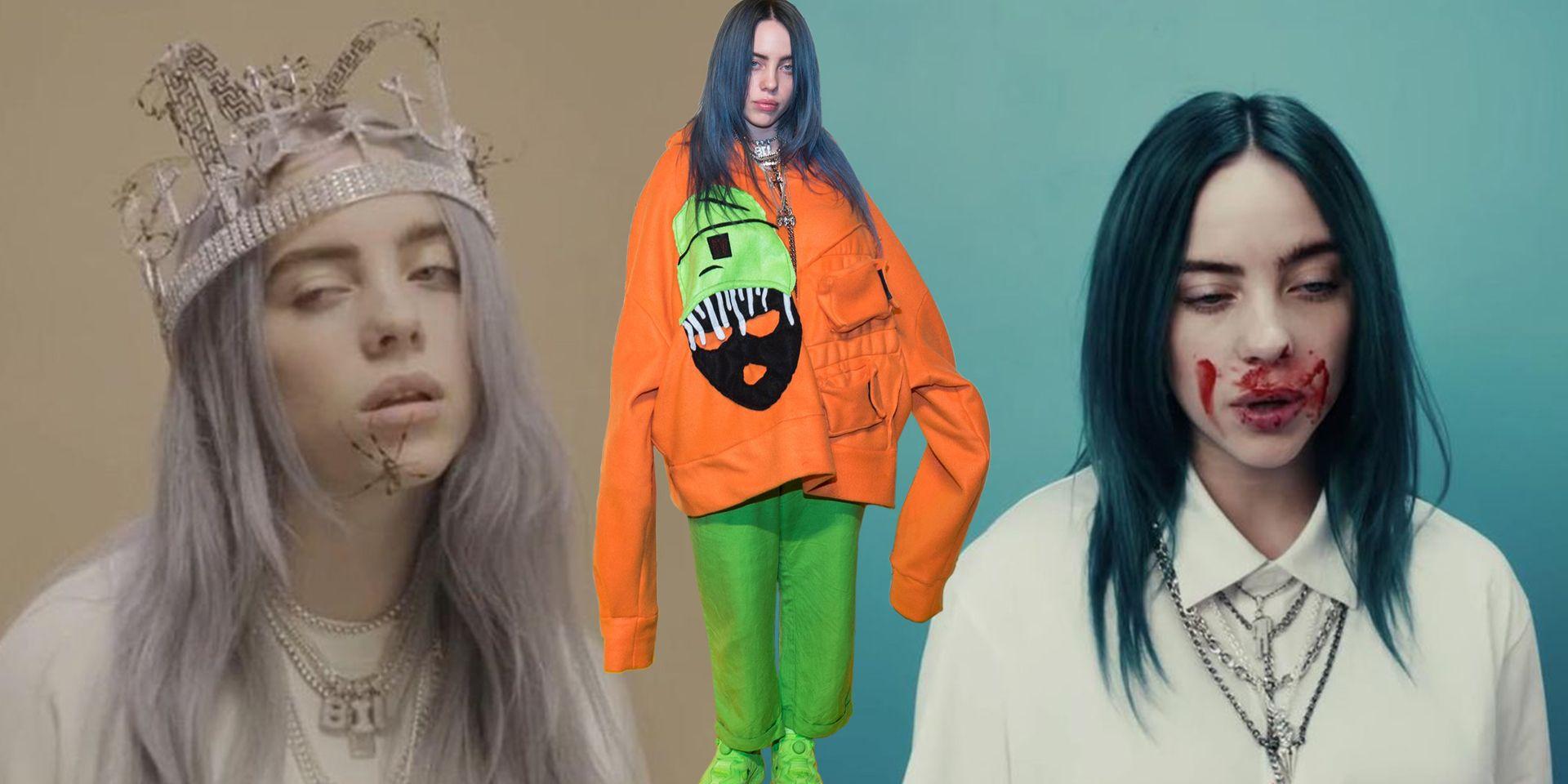 Billie Eilish Halloween Costumes Billie Eilish Outfits