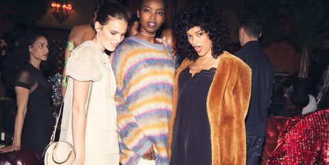 Fashion, Event, Fun, Fashion design, Party, Fashion model, Fur, Style,