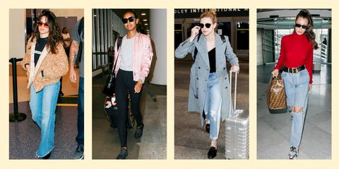 261b9d3e181 27 Cute and Comfy Airport Outfits Inspired By The Most Stylish Celebs