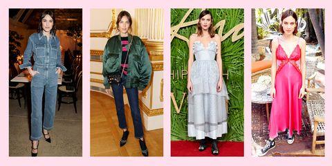 Clothing, Fashion, Dress, Fashion model, Outerwear, Fashion design, Footwear, Street fashion, Denim, Textile,