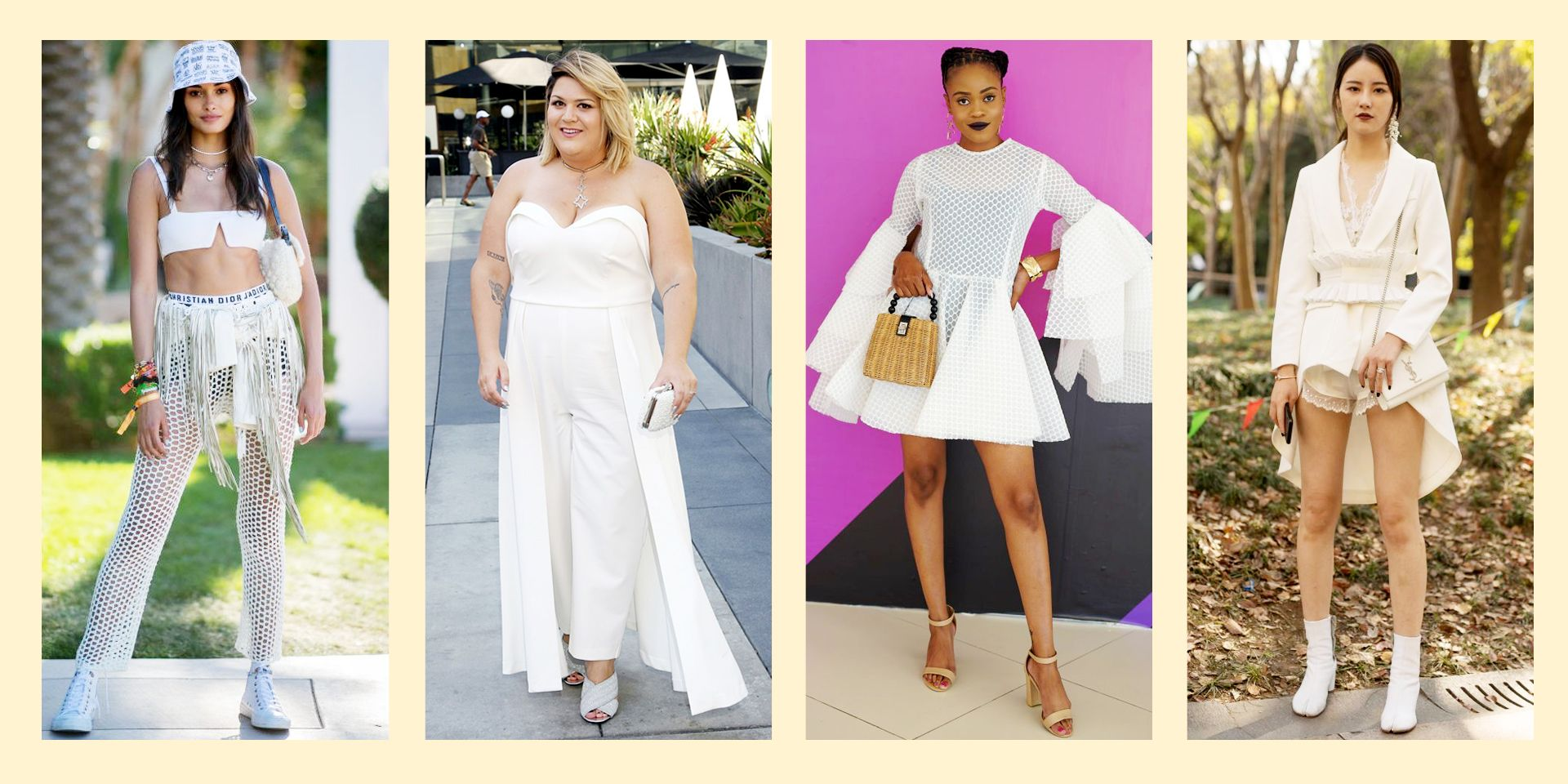 22 Ways To Wear All White and Look Stylish AF