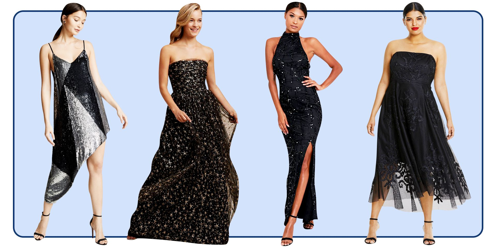 23 Best Black Prom Dresses 2020 , Dark Formal Dresses for Prom