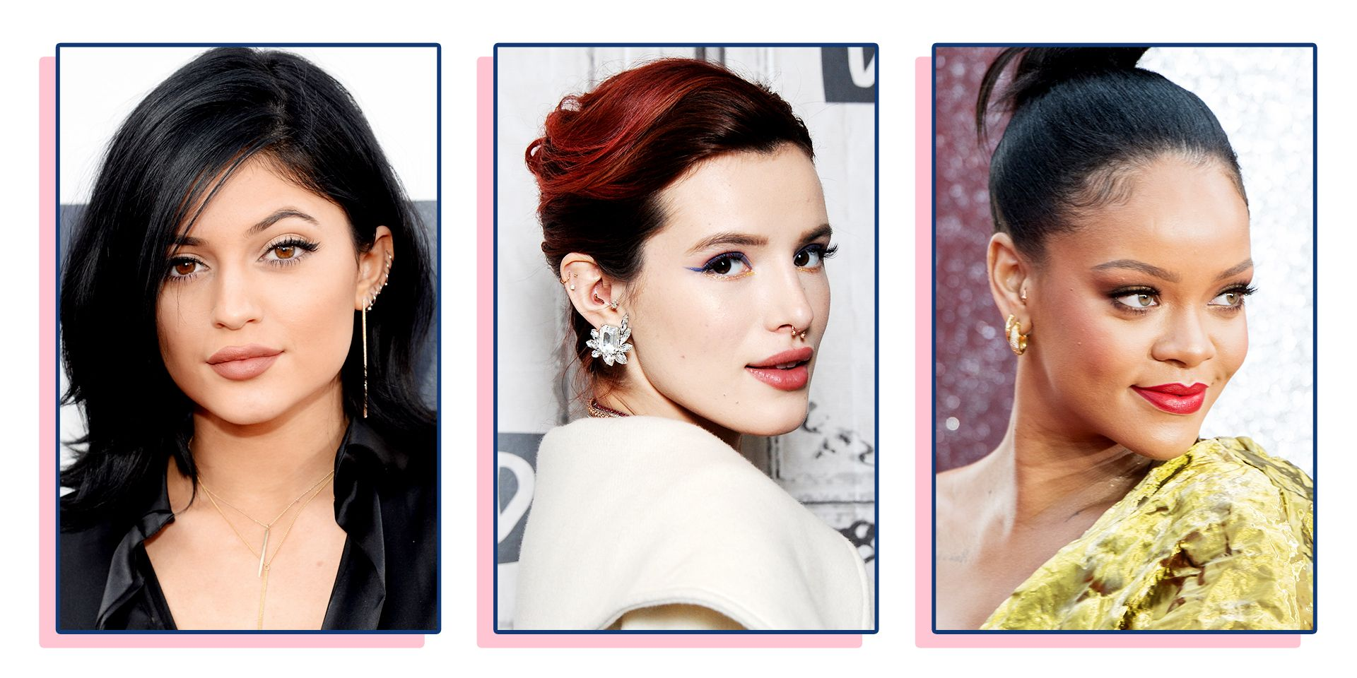 best celebrity piercings