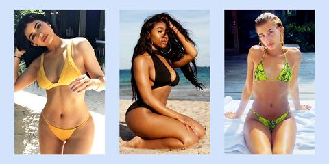 9787bc08795 37 Best Celebrity Swimsuits 2019 - Celebrities Wearing Bikinis