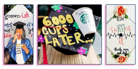 9492099ed3b752 25 Graduation Cap Ideas for 2018 - How to Decorate Your Graduation Hat