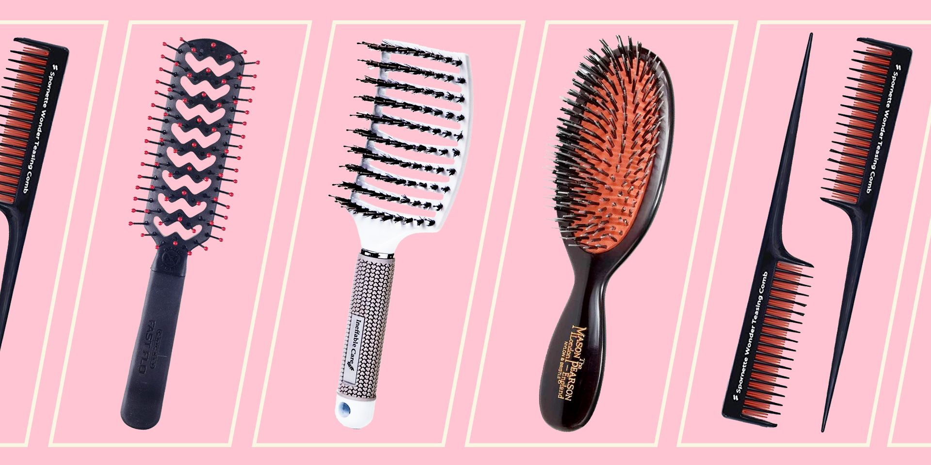 Different Types Of Hair Brushes - Hair Brush Guide