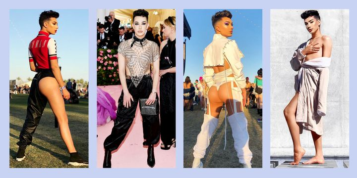 James Charles\u0027 Naked Outfits , James Charles Best Looks