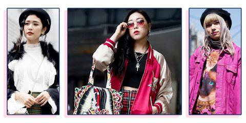 Fashion, Street fashion, Jacket, Textile, Outerwear, Art, Photography, Collage, Fur, Fashion accessory,