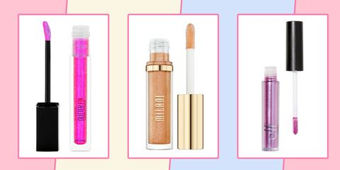 Cosmetics, Lip gloss, Pink, Product, Eyebrow, Beauty, Eye shadow, Eye, Brown, Tints and shades,