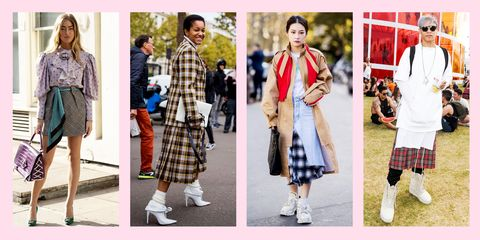 8f6b6e853 13 Stylish Ways to Wear Plaid Skirts That'll Totally Slay the Day