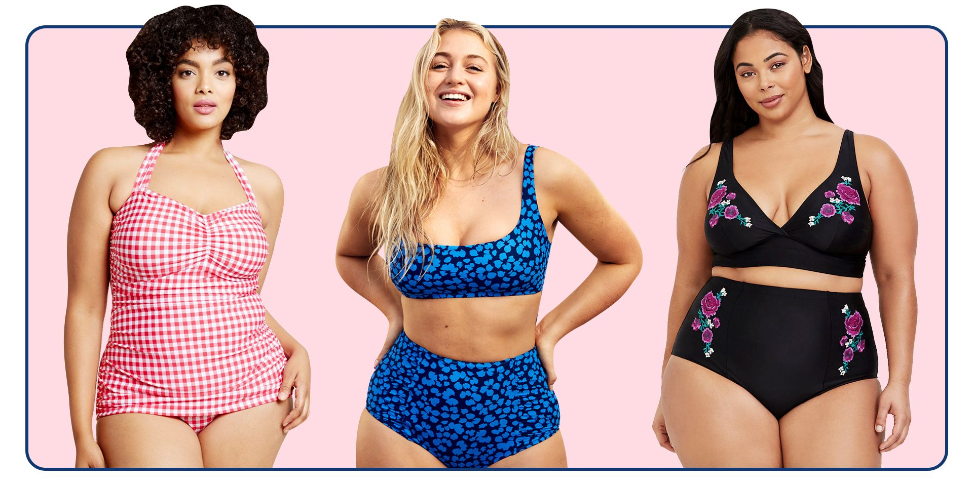 10 Supportive Swimsuits for Big Busts That Still Look Super Hot