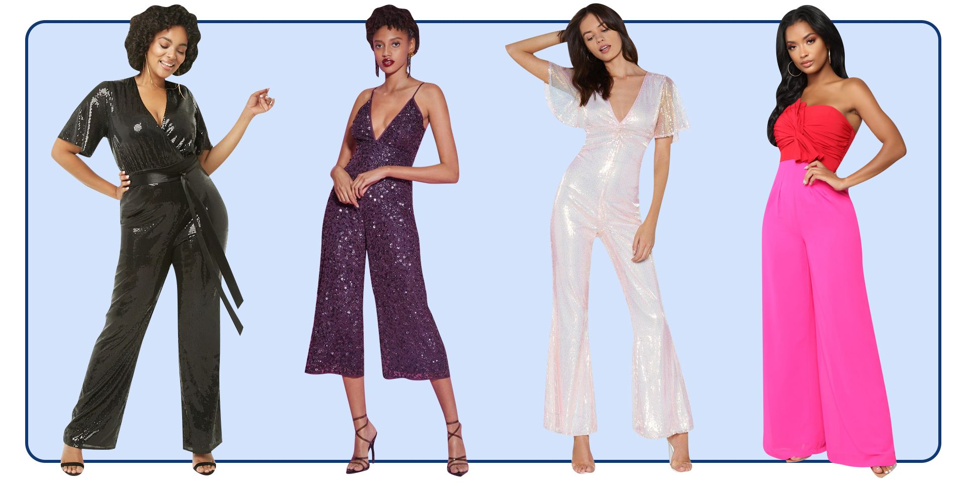 a74535ad0e 17 Best Jumpsuits for Prom - How to Wear a Cute Romper to Prom 2019