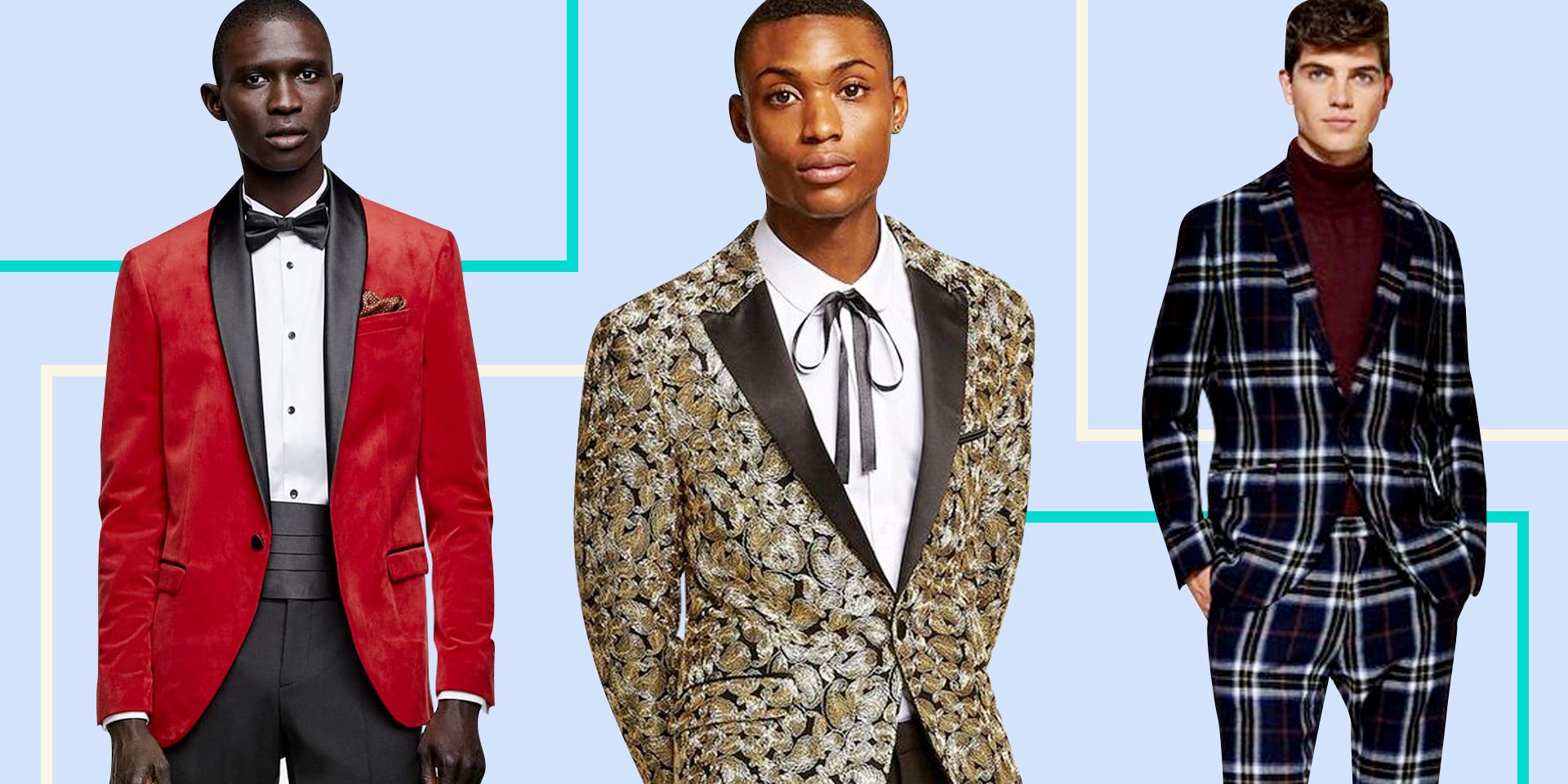 c8b303e4403e 16 Best Prom Tuxedo and Suit Styles of 2019 - Cool Prom Outfits for Guys