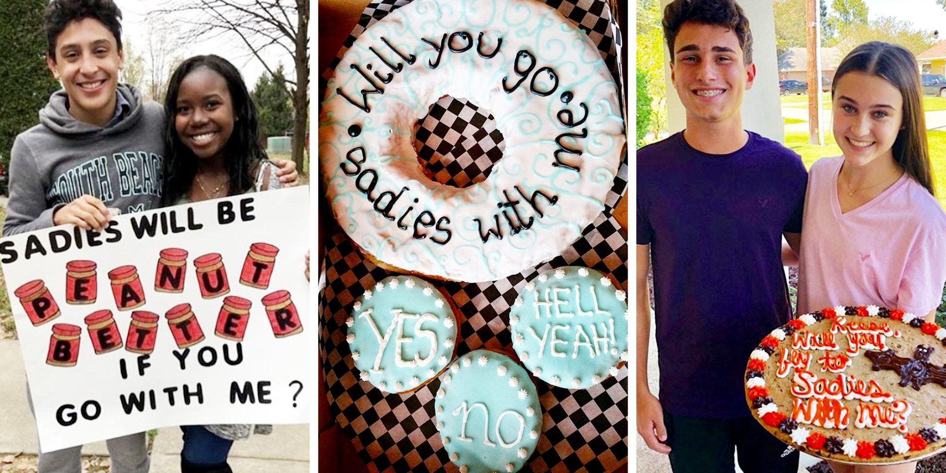Ways to ask a boy to sadies