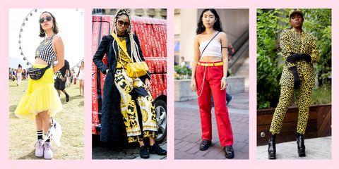 759cad832f6024 street style influencers wearing yellow outfits