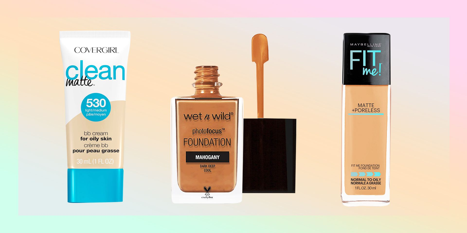 Best Drugstore Foundations For Oily Skin 2021 Best Foundation For Oily Acne Prone Skin