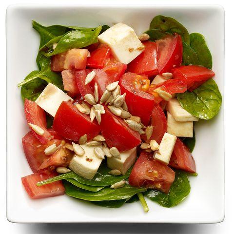 Salade de mozzarella