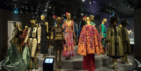 8151911f870 YSL Fashion Exhibit in Paris - Yves Saint Laurent Museum in Paris France