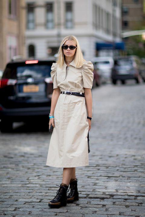 Vestido Botines Combinación Perfecta De Entretiempo