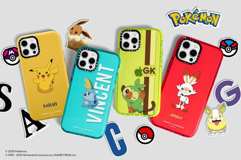 casetify x pokémon 寶可夢系列手機殼太q啦!還有皮卡丘設計airpods保護套、apple watch錶帶必收