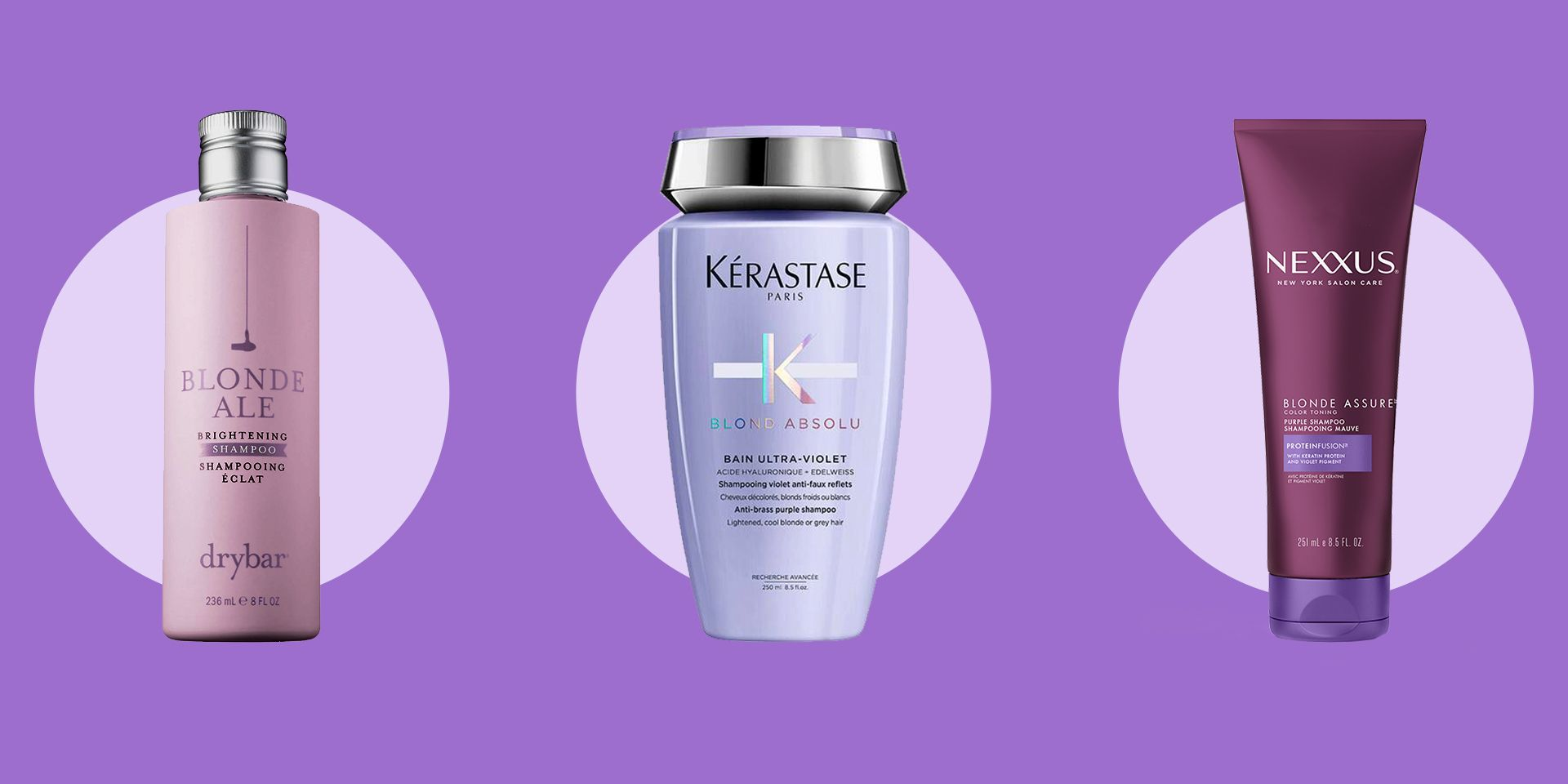 16 Best Purple Shampoos to Cancel the Brassy Tones in Your Blonde Hair