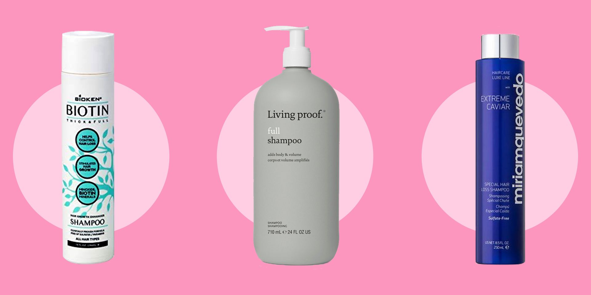 15 of the Best Shampoos You Can Use To Treat and Add Extra Volume to Thinning Hair