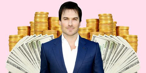 Money, Cash, Currency, Saving, White-collar worker, Money handling, Business, Suit,