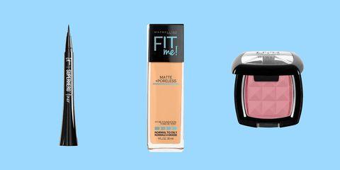Product, Cosmetics, Beauty, Pink, Eye, Eye shadow, Eye liner, Beige, Material property, Liquid,