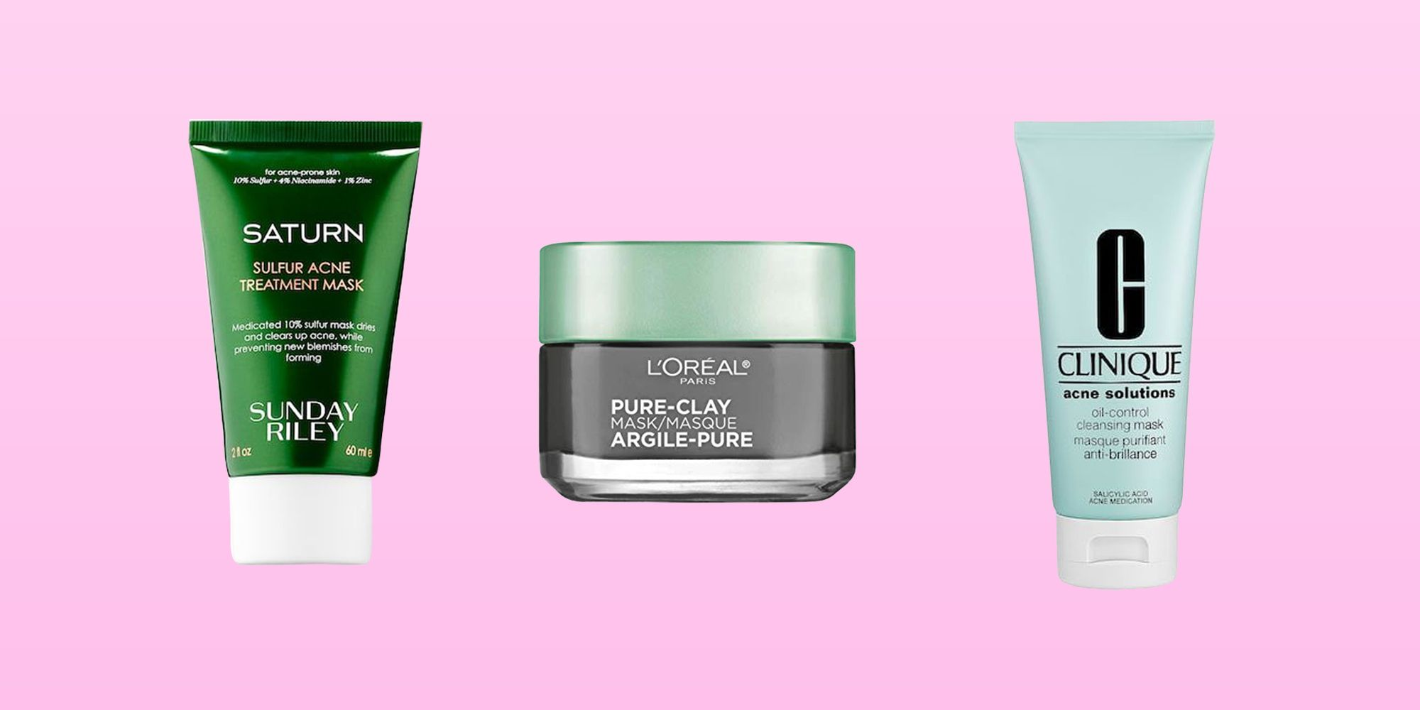 10 Acne-Fighting Face Masks That'll Leave Your Skin Clear AF