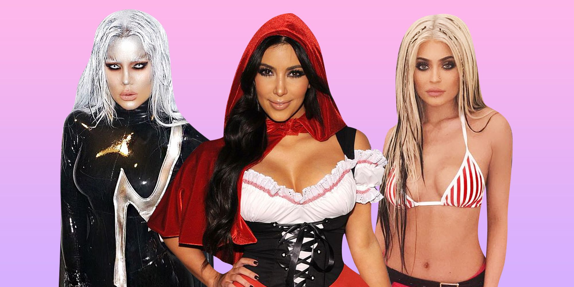 the best kardashian jenner halloween costumes ever all of kim and kendalls sexiest costumes