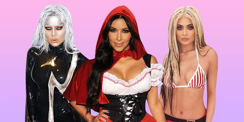 The Best Kardashian Jenner Halloween Costumes Ever All Of