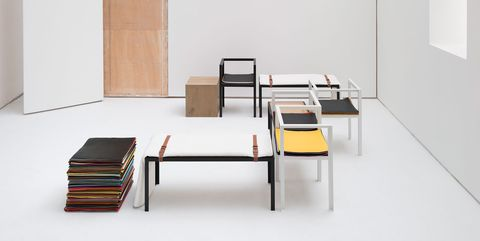 Furniture, Table, Desk, Room, Interior design, Architecture, Design, Chair, Coffee table, Auto part,