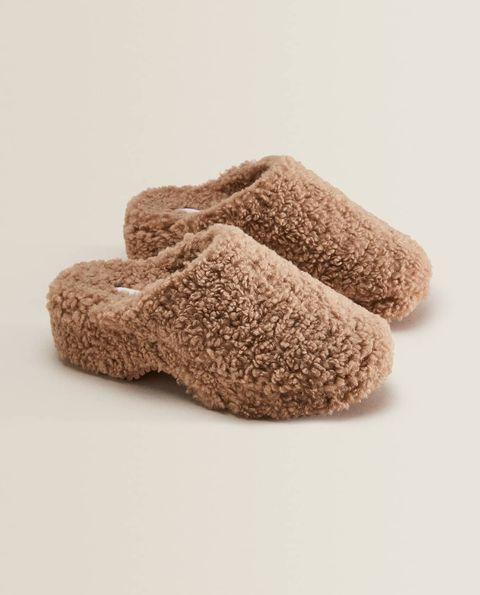 pantofole eco pelliccia