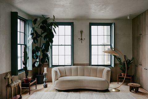 Una casa minimalista, acogedora y hugonote en pleno East London.